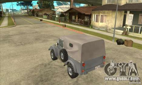 ARO M461 for GTA San Andreas back left view