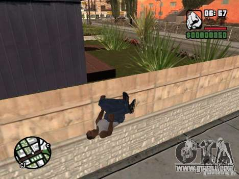 PARKoUR for GTA San Andreas seventh screenshot