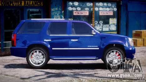 Cadillac Escalade [Beta] for GTA 4 side view