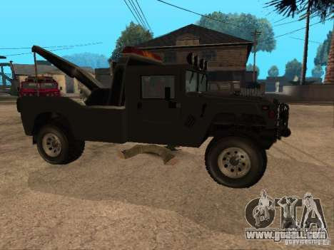 H1 HUMMER truck for GTA San Andreas right view