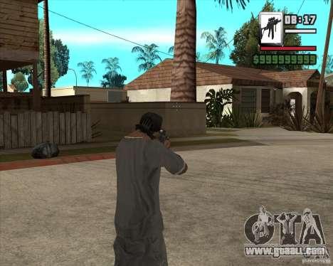 Sig550-m4 for GTA San Andreas third screenshot