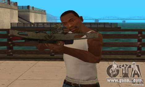 Black Ops crossbow for GTA San Andreas forth screenshot