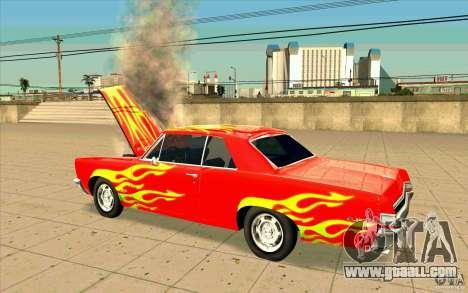 Dead car for GTA San Andreas second screenshot