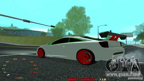 Toyota Celica v2 for GTA San Andreas left view