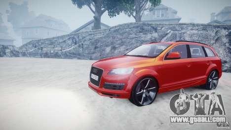Audi Q7 LED Edit 2009 for GTA 4 back view