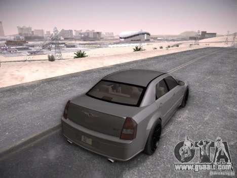 Chrysler 300C SRT8 for GTA San Andreas left view
