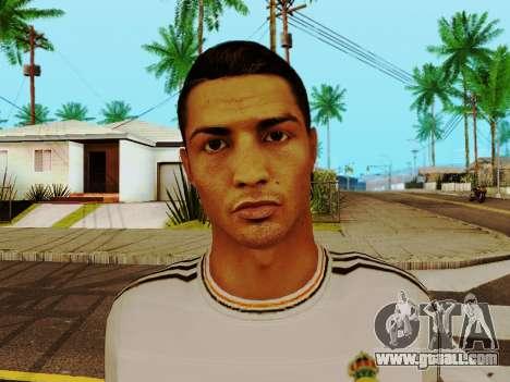 Cristiano Ronaldo v1 for GTA San Andreas sixth screenshot