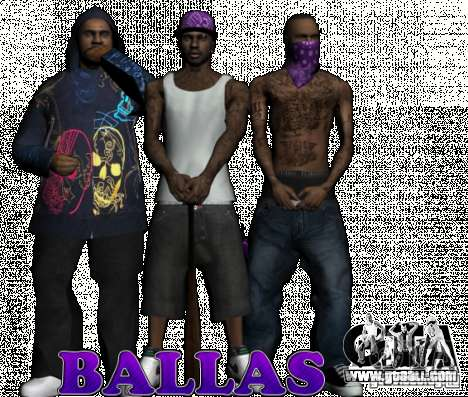 New Ballas for GTA San Andreas