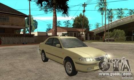 MAZDA 626 GF Sedan for GTA San Andreas back view