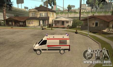 Volkswagen Crafter Ambulance for GTA San Andreas left view