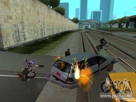 The realistic blast machines for GTA San Andreas third screenshot