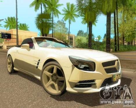 Mercedes-Benz SL350 2013 for GTA San Andreas left view