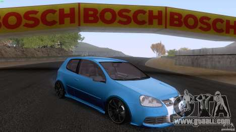 VW Golf 5 R32 2006 StanceWorks for GTA San Andreas left view