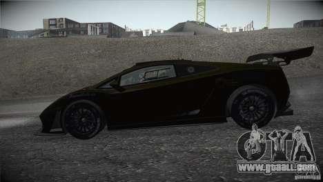 Lamborghini Gallardo LP560-4 GT3 for GTA San Andreas left view