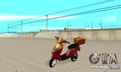 GTAIV Pizzaboy for GTA San Andreas