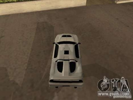 Infernus GT for GTA San Andreas back left view