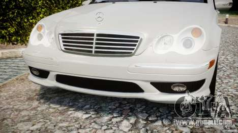 Mercedes-Benz C32 AMG 2004 for GTA 4 side view