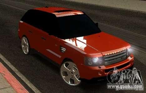 RANGE ROVER SPORT v 2.0 for GTA San Andreas
