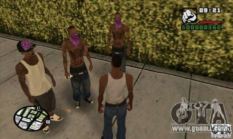 New Ballas for GTA San Andreas third screenshot