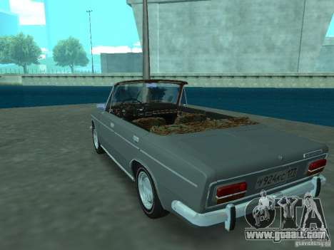 VAZ 2103 Cabrio for GTA San Andreas back left view