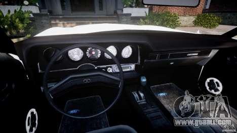 Ford Gran Torino 1975 v1.1 for GTA 4 back view