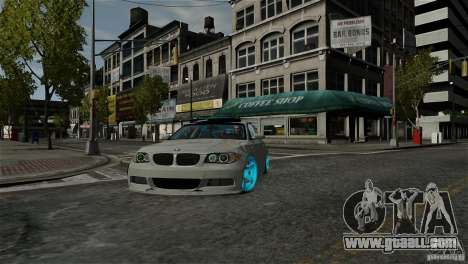 BMW 135i HellaFush for GTA 4 back view