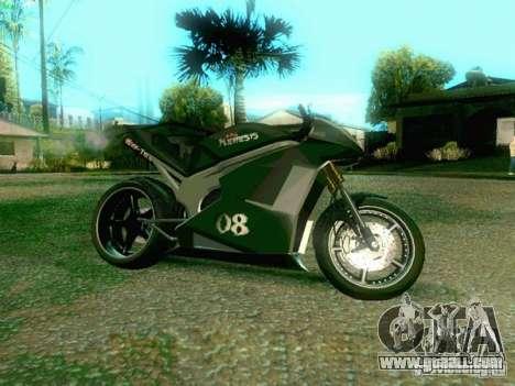 NEW NRG-500 for GTA San Andreas