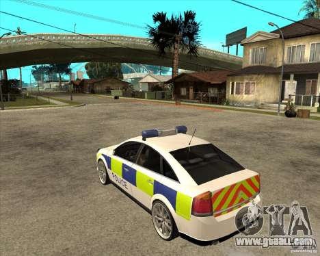 2005 Opel Vectra Police for GTA San Andreas left view