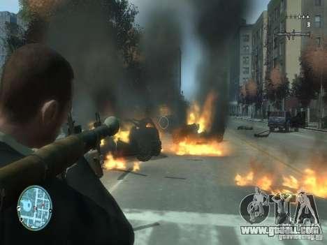 Intense Fire Mod for GTA 4 second screenshot