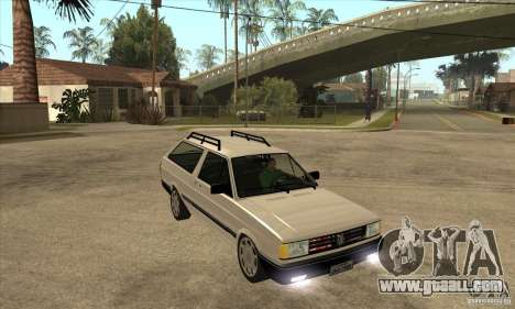 VW Parati GLS 1989 for GTA San Andreas back view