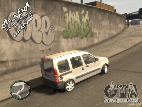 Renault Kangoo 2007 for GTA 4 right view