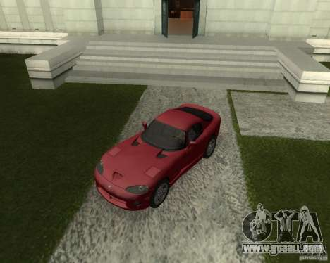 Dodge Viper GTS Coupe for GTA San Andreas