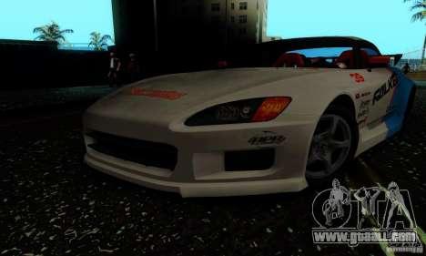 Honda S2000 Tunable for GTA San Andreas side view