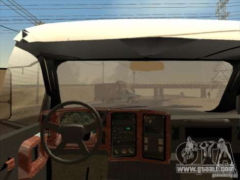 GMC 5500 2001 for GTA San Andreas back view