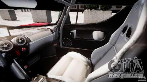 Ferrari FXX for GTA 4 back view