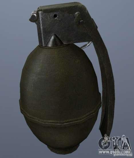 M61 Grenade for GTA San Andreas second screenshot