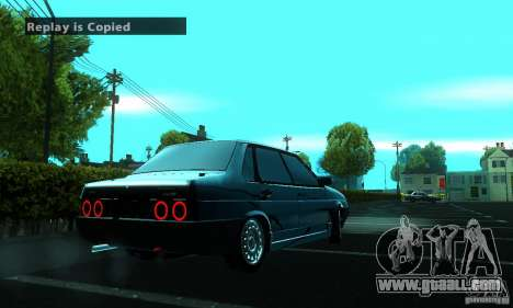 VAZ 21099 PROTOCOL for GTA San Andreas back view