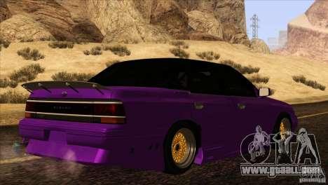 Subaru Legacy Drift Union for GTA San Andreas inner view