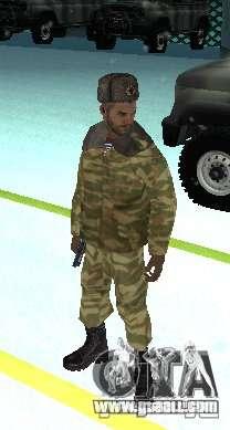 Dembele Covetskoj army for GTA San Andreas second screenshot