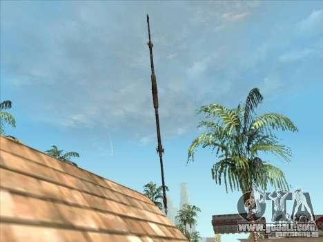 The Predator Spear for GTA San Andreas