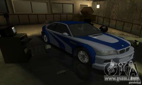 BMW M3 Tuneable for GTA San Andreas engine
