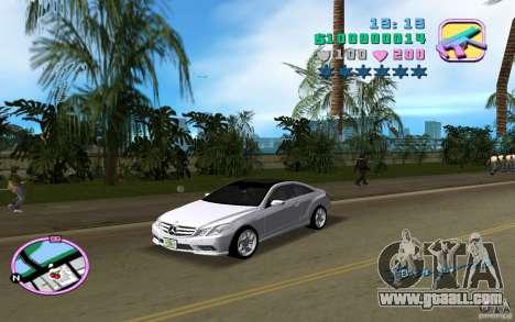 Mercedes-Benz E Class Coupe C207 for GTA Vice City left view