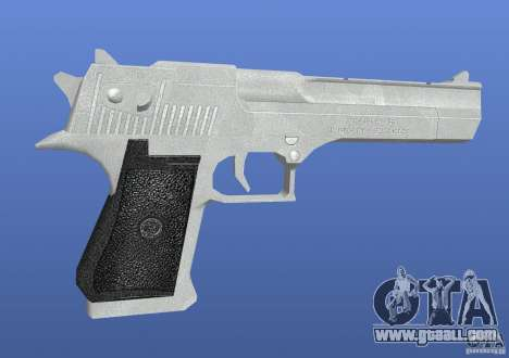 Silver Deagle for GTA 4 second screenshot