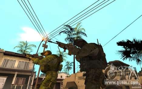 SCAR FN MK16 for GTA San Andreas third screenshot