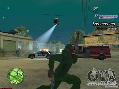 C-HUD v2.0 for GTA San Andreas forth screenshot