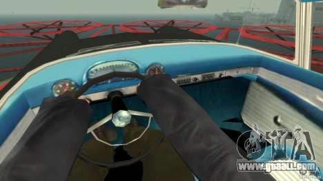 Smith Thunderbolt Mafia II for GTA 4 inner view