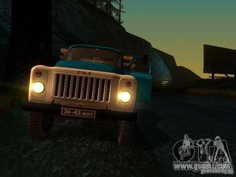 GAZ 53 for GTA San Andreas upper view