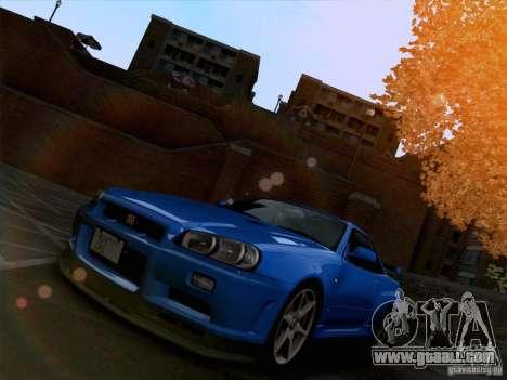 Realistic Graphics HD 3.0 for GTA San Andreas forth screenshot