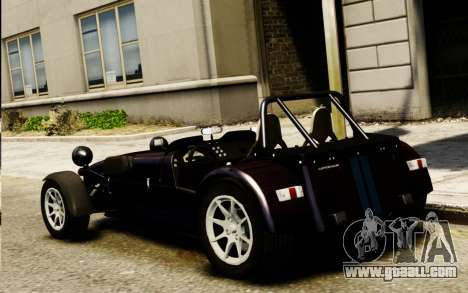 Caterham Superlight R500 v1.0 for GTA 4 left view