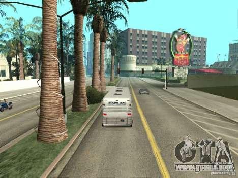 Bus line in Las Venturas for GTA San Andreas eighth screenshot
